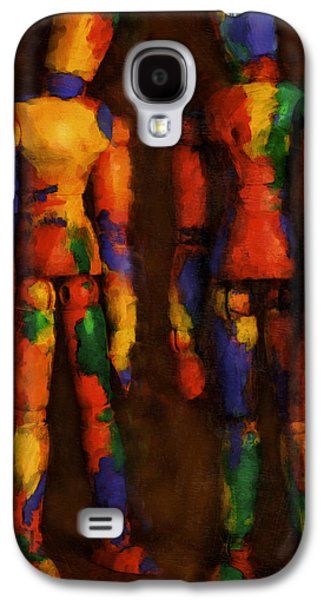 Playful Digital Galaxy S4 Cases - Duo Galaxy S4 Case by Jeff  Gettis