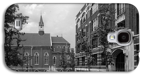 Collegiate Galaxy S4 Cases - Duquesne University Chapel and Canevin Hall Galaxy S4 Case by University Icons
