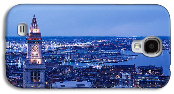 Dusk Boston Massachusetts Usa Galaxy S4 Case by Panoramic Images