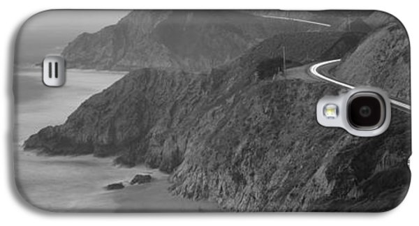 Coast Hwy Ca Galaxy S4 Cases - Dusk Highway 1 Pacific Coast Ca Usa Galaxy S4 Case by Panoramic Images