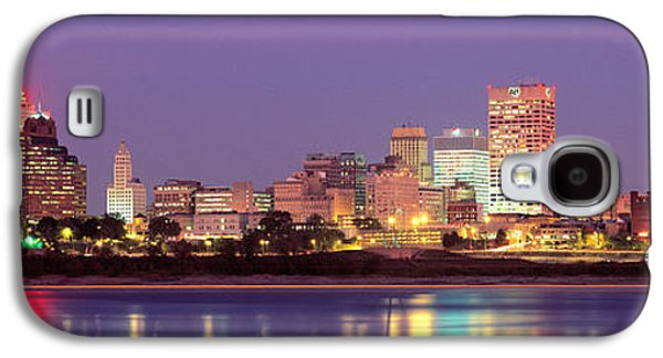 Tn Galaxy S4 Cases - Dusk, Memphis, Tennessee, Usa Galaxy S4 Case by Panoramic Images