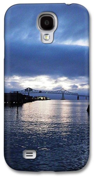 Universities Pyrography Galaxy S4 Cases - Dusk on the River Galaxy S4 Case by Andrew  Stoffel