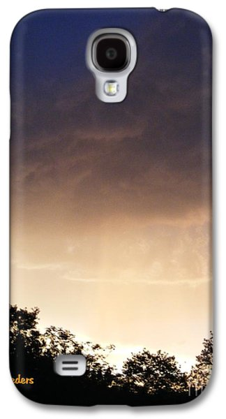 Abstract Digital Paintings Galaxy S4 Cases - DUSK SONATA 1 H a Galaxy S4 Case by Gert J Rheeders