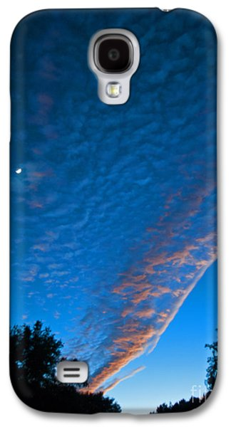 Consumerproduct Galaxy S4 Cases - Bright Blue Dusk Galaxy S4 Case by George D Gordon III