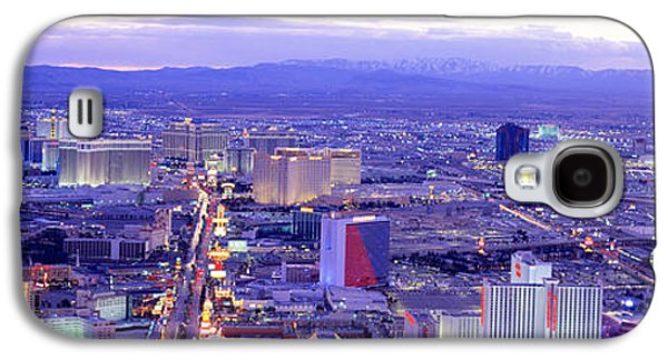 The Strip Galaxy S4 Cases - Dusk The Strip Las Vegas Nv Usa Galaxy S4 Case by Panoramic Images