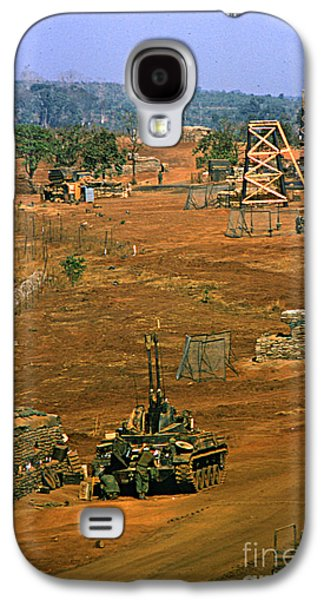 3rd Base Galaxy S4 Cases - Duster of 4/60th Artillery at  LZ Oasis Vietnam 1969 Galaxy S4 Case by California Views Mr Pat Hathaway Archives
