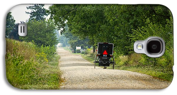 Amish Photographs Galaxy S4 Cases - Dusty August Galaxy S4 Case by David Arment