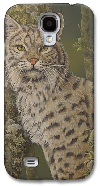 Bobcats Galaxy S4 Cases - Dusty Galaxy S4 Case by Laura Regan