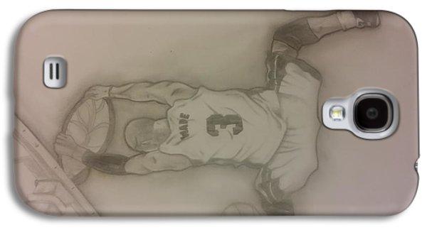Dwyane Wade Galaxy S4 Cases - Dwyane Wade  Galaxy S4 Case by Manny