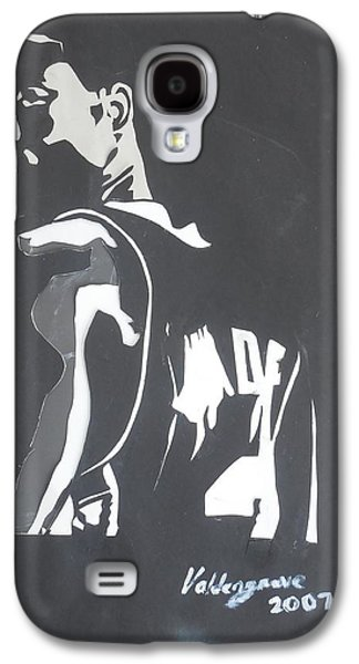 Lebron Mixed Media Galaxy S4 Cases - Dwyane Wade Galaxy S4 Case by Valdengrave Okumu