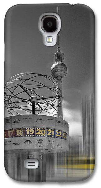 Abstract Digital Digital Art Galaxy S4 Cases - Dynamic-Art BERLIN City-Centre Galaxy S4 Case by Melanie Viola