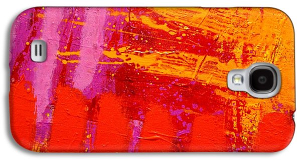 Abstract Movement Galaxy S4 Cases - Dynamic Colour Galaxy S4 Case by John  Nolan