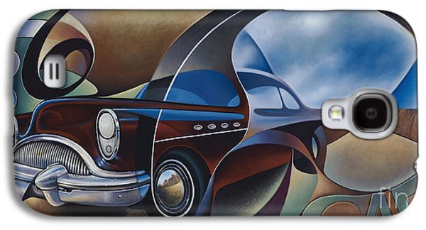 Earth Tones Galaxy S4 Cases - Dynamic Route 66 Galaxy S4 Case by Ricardo Chavez-Mendez