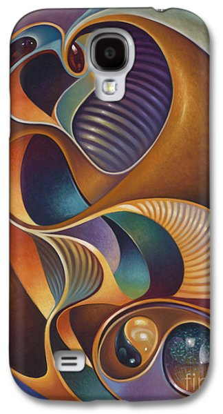 Yang Galaxy S4 Cases - Dynamic Series #23 Galaxy S4 Case by Ricardo Chavez-Mendez