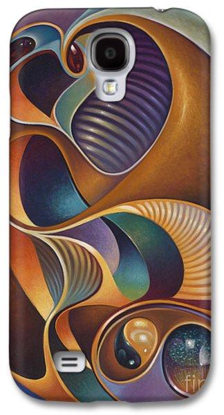 Yang Galaxy S4 Cases - Dynamic Series #23 Galaxy S4 Case by Ricardo Chavez-Mendez