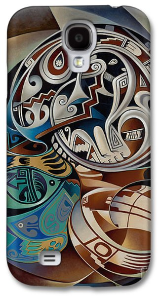 Pottery Paintings Galaxy S4 Cases - Dynamic Still Il Galaxy S4 Case by Ricardo Chavez-Mendez