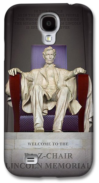 Ea-z-chair Lincoln Memorial 2 Galaxy S4 Case by Mike McGlothlen