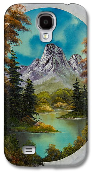 Bob Ross Paintings Galaxy S4 Cases - Russet Autumn  Galaxy S4 Case by C Steele