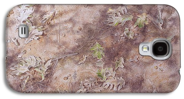Nature Study Mixed Media Galaxy S4 Cases - Early Fall Galaxy S4 Case by Michele Myers
