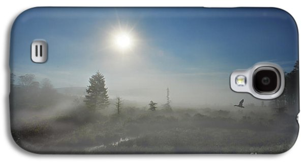 Dan Friend Galaxy S4 Cases - Early morning fog at Canaan Valley Galaxy S4 Case by Dan Friend