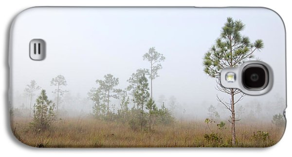 Slash Galaxy S4 Cases - Early morning fog Landscape-1 Galaxy S4 Case by Rudy Umans