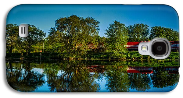 Feed Mill Galaxy S4 Cases - Early Morning Rest Stop Galaxy S4 Case by Randy Scherkenbach