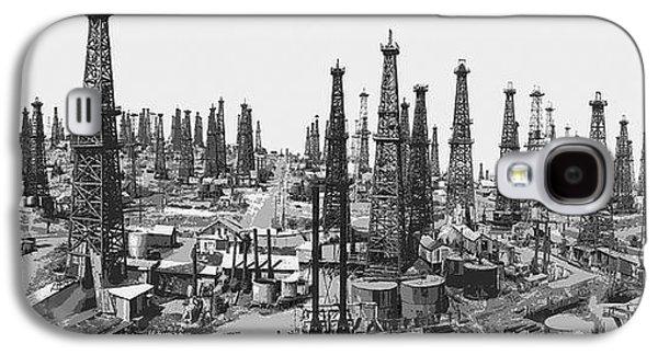 Early Oil Field Galaxy S4 Case by Daniel Hagerman