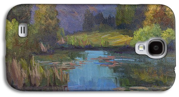 Early Spring Paintings Galaxy S4 Cases - Early Spring Galaxy S4 Case by Diane McClary