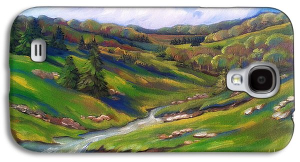 Arkansas Paintings Galaxy S4 Cases - Early Spring In The Foothills 1 Galaxy S4 Case by MarLa Hoover