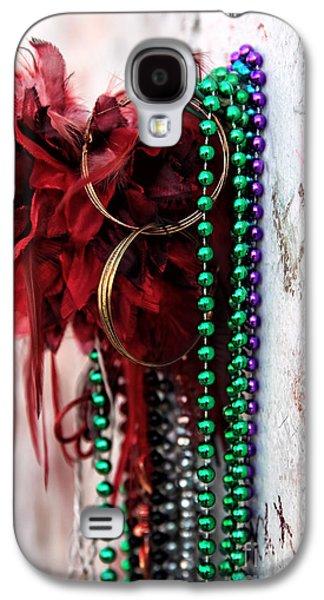 Gold Earrings Galaxy S4 Cases - Earrings for Marie Galaxy S4 Case by John Rizzuto