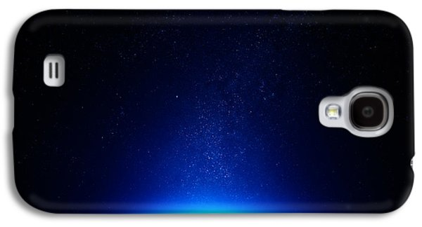 Earth At Night With City Lights Galaxy S4 Case by Johan Swanepoel
