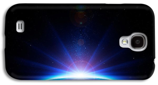 Earth Galaxy S4 Cases - Earth sunrise Galaxy S4 Case by Johan Swanepoel