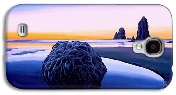 Mist Paintings Galaxy S4 Cases - Earth Sunrise Galaxy S4 Case by Paul  Meijering