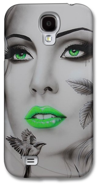 Lady Gaga Galaxy S4 Cases - EarthBound Galaxy S4 Case by Christian Chapman Art