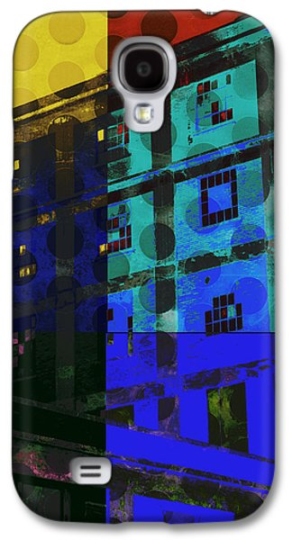 Color Block Galaxy S4 Cases - East Central Avenue Galaxy S4 Case by Ann Powell