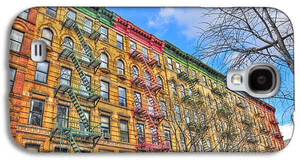 East Village Galaxy S4 Cases - East Village Buildings on East Fourth Street and Bowery Galaxy S4 Case by Randy Aveille