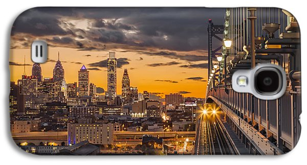 Downtown Franklin Galaxy S4 Cases - Eastbound encounter Galaxy S4 Case by Eduard Moldoveanu