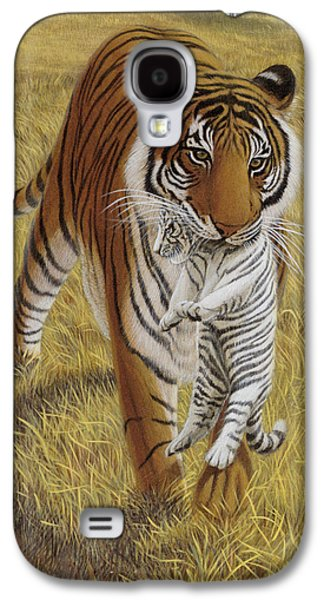 Animals Jewelry Galaxy S4 Cases - Easy Rider Galaxy S4 Case by Michael Phillips