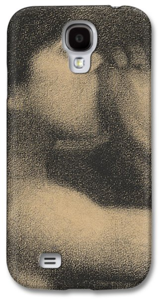 White Pastels Galaxy S4 Cases - Echo Galaxy S4 Case by Georges Pierre Seurat