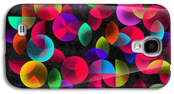 Surreal Geometric Galaxy S4 Cases - Echoes Galaxy S4 Case by Mark Ashkenazi