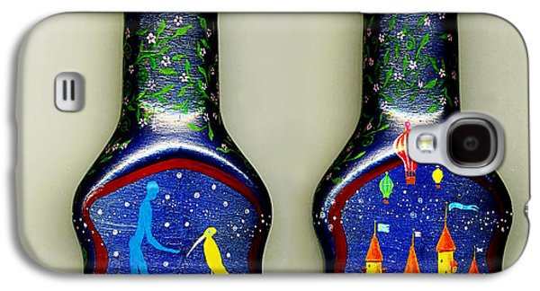 Fantasy Glass Galaxy S4 Cases - Echos Of Camelot . . . Galaxy S4 Case by Hartmut Jager
