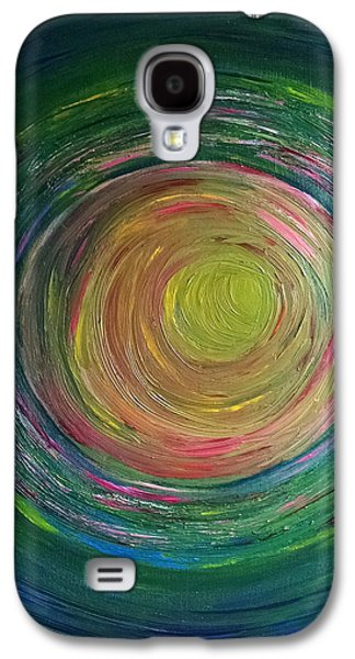 Daina White Galaxy S4 Cases - Eclipse of Time Galaxy S4 Case by Daina White