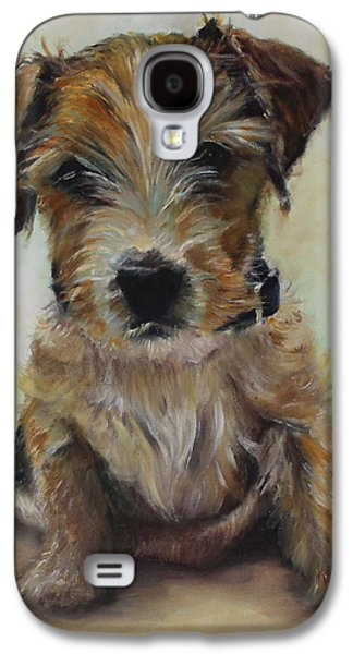 Recently Sold -  - Puppies Galaxy S4 Cases - Ed Galaxy S4 Case by Genny Goodman