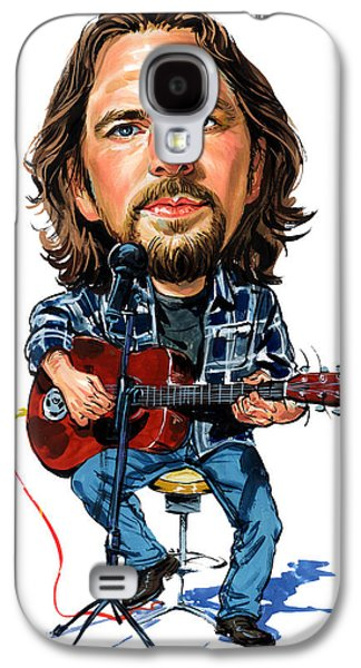 Person Galaxy S4 Cases - Eddie Vedder Galaxy S4 Case by Art