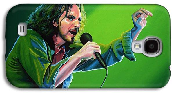 Jeremy Galaxy S4 Cases - Eddie Vedder of Pearl Jam Galaxy S4 Case by Paul Meijering