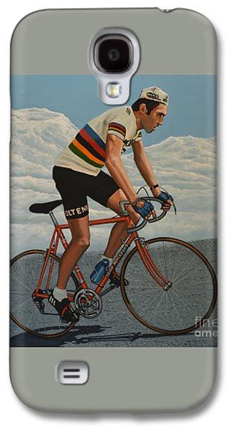 Eddy Merckx Galaxy S4 Case by Paul Meijering