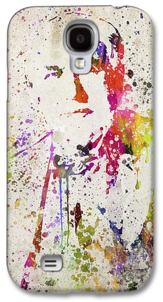 Edison Galaxy S4 Cases - Edison in Color Galaxy S4 Case by Aged Pixel