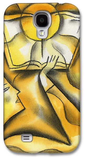 Independence Paintings Galaxy S4 Cases - Education Galaxy S4 Case by Leon Zernitsky