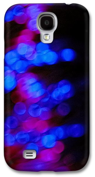 Effervescence Galaxy S4 Cases - Effervescence and Flowing Illusions  Galaxy S4 Case by Sandra Pena de Ortiz