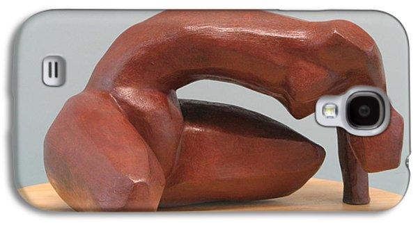 Original Sculptures Galaxy S4 Cases - Effort Galaxy S4 Case by Nili Tochner